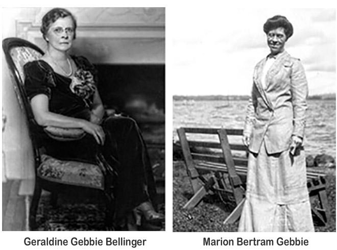Geraldine and Marion Gebbie