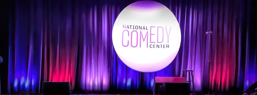 National Comedy Center presented on Stage at the Reg Lenna Theater